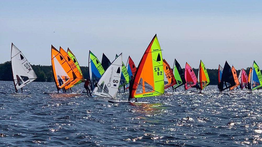 Windsurf-evenement/Oude Deuren Race