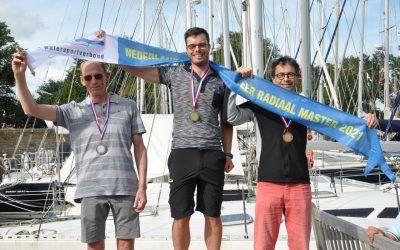 We hebben een Nederlands Laser Masters kampioen !